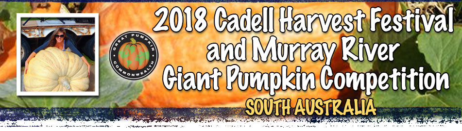 Cadell Harvest Festival and Murray River Pumpkin Competition